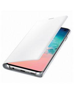 Husa Samsung Galaxy S10 G973 Samsung Book Led View White