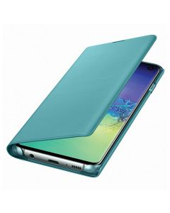 Husa Samsung Galaxy S10 G973 Samsung Book Led View Green