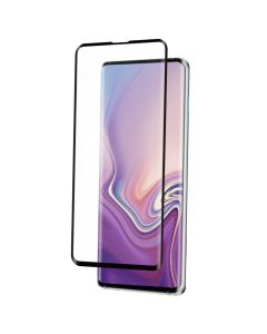 Folie Samsung Galaxy S10 Plus G975 Eiger Sticla 3D Edge to Edge Clear Black