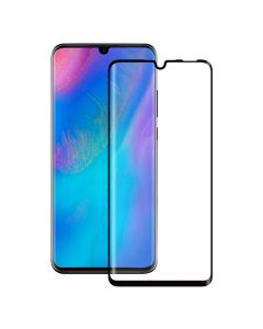 Folie Huawei P30 Lite Eiger Sticla 3D Edge to Edge Clear Black