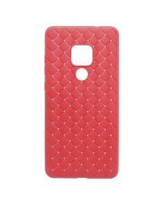 Carcasa Huawei Mate 20 Pro Devia Woven Soft Red