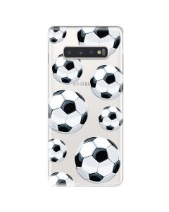 Husa Samsung Galaxy S10 Plus G975 Lemontti Silicon Art Football