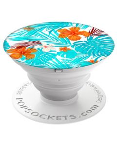 Suport Popsockets Stand Adeziv Tropical Hibiscus