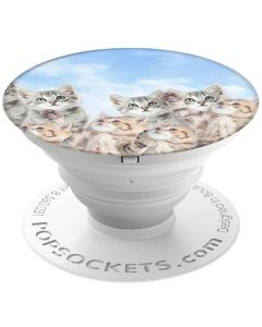 Suport Popsockets Stand Adeziv Sky Kitties
