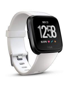 Smartwatch Fitbit Versa (NFC) White Band / Black Case Aluminum