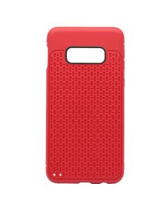 Husa Samsung Galaxy S10e G970 Just Must Silicon Stripe Soft Red