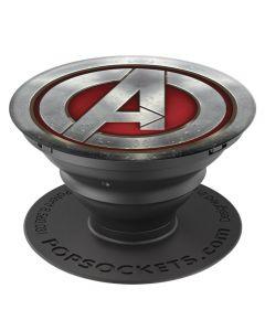Suport Popsockets Stand Adeziv Avengers Icon Monochrome