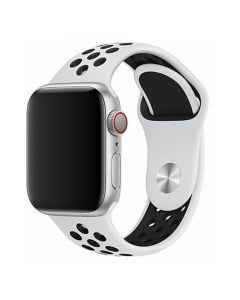 Curea Apple Watch 4 38mm / 40mm Devia Deluxe Series Sport 2 White