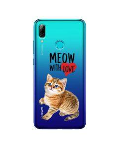Husa Huawei P Smart (2019) Lemontti Silicon Art Meow With Love