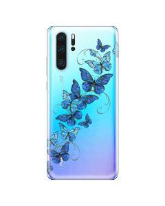 Husa Huawei P30 Lemontti Silicon Art Butterflies