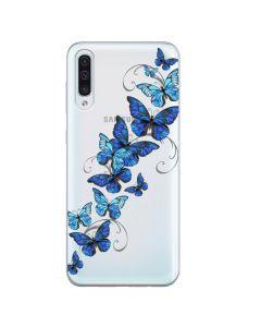 Husa Samsung Galaxy A50 Lemontti Silicon Art Butterflies