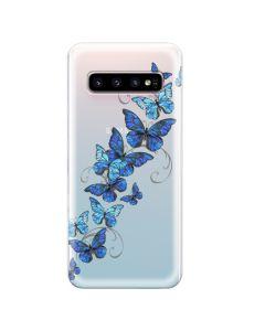 Husa Samsung Galaxy S10 G973 Lemontti Silicon Art Butterflies