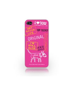Carcasa iPhone 4/4S Lost Dog Slim Hard Top Secret Pink