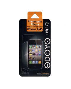 Folie iPhone 4/4S Odoyo Premium Gloss (1 fata + 1 spate)