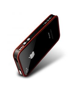 Bumper iPhone 4/4S Navjack Trim Series Deluxe Passion Red