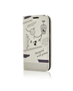 Husa Samsung Galaxy S3 Mini i8190 Lemontti Happy Life Vintage Clock