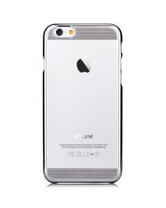 Carcasa iPhone 6/6S Comma Brightness Silver (rama electroplacata)