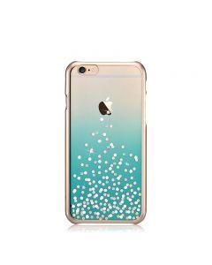 Carcasa iPhone 6 Plus Comma Unique Polka Green (Cristale Swarovski®, electroplacat)