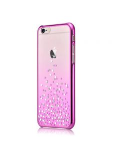 Carcasa iPhone 6 Plus Comma Unique Polka Rose Pink (Cristale Swarovski®, electroplacat)