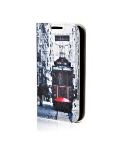 Husa Samsung Galaxy S5 Mini G800 Lemontti Happy Life City