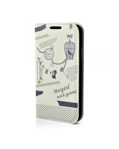 Husa Samsung Galaxy S5 Mini G800 Lemontti Happy Life Vintage Clock