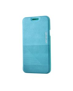 Husa Samsung Galaxy A3 Lemontti Book Jelly Linea Albastru