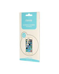 Folie iPhone SE/5S Devia Original Pet Black (1 fata clear si 1 spate opac)