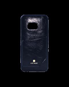 Carcasa Samsung Galaxy S6 G920 Just Must Chic Black (cu buzunar)