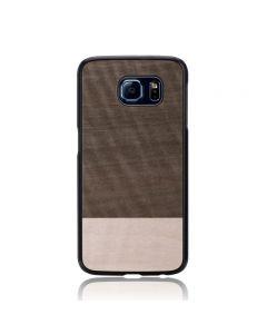 Carcasa Samsung Galaxy S6 G920 Man&Wood Lemn Slim Einstein