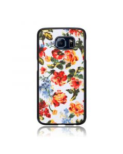 Carcasa Samsung Galaxy S6 G920 iKins Fabric Pattern Vintage Floral White