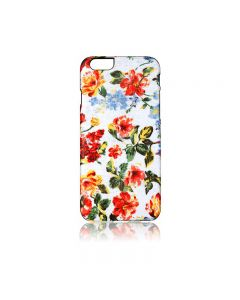 Carcasa iPhone 6/6S iKins Fabric Pattern Vintage Floral White