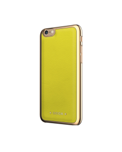Carcasa iPhone 6/6S Occa Absolute Lime (piele naturala)