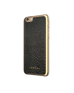 Carcasa iPhone 6/6S Occa Wild Black (piele naturala)