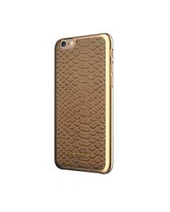 Carcasa iPhone 6/6S Occa Wild Khaki (piele naturala)