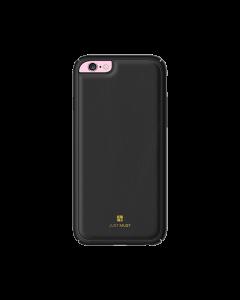 Carcasa iPhone 6/6S Just Must Armour Black (protectie margine 360°)