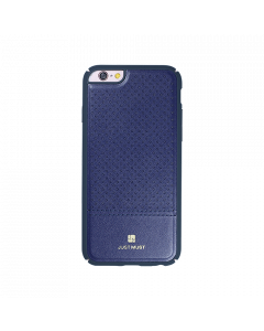 Carcasa iPhone 6/6S Just Must Carve I Navy (protectie margine 360�)
