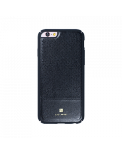 Carcasa iPhone 6/6S Just Must Carve I Black (protectie margine 360°)