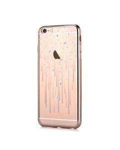 Husa iPhone 6/6S Devia Silicon Meteor Champagne Gold (Cristale Swarovski®)