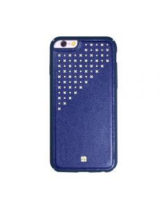 Carcasa iPhone 6/6S Just Must Carve IV Navy (protectie margine 360°)