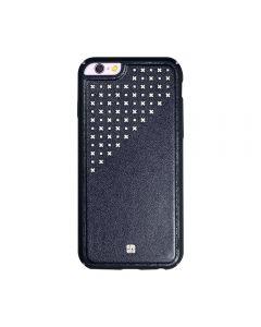 Carcasa iPhone 6/6S Just Must Carve IV Black (protectie margine 360°)