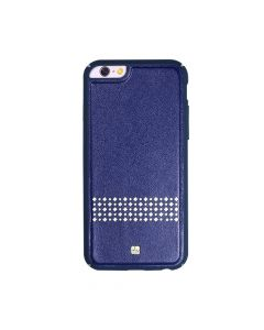 Carcasa iPhone 6/6S Just Must Carve V Navy (protectie margine 360�)
