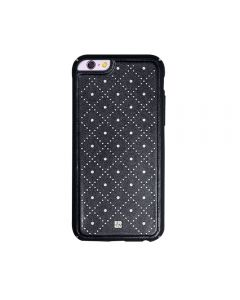 Carcasa iPhone 6/6S Just Must Carve VI Black (protectie margine 360°)