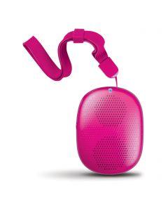 Boxa iSound PopDrop Roz (bluetooth, cablu microUSB inclus, bratara)