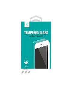 Folie iPhone SE/5S Devia Sticla Temperata (1 fata Anti-Shock + 1 spate Clear, 9H, 0.26mm)